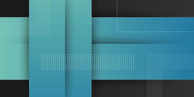 Fondo moderno astratto con colore pastello sfumato blu e elemento di forma quadrata