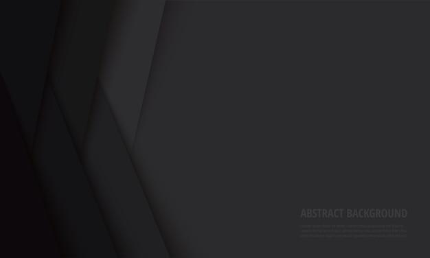 Sfondo astratto moderno linee nere