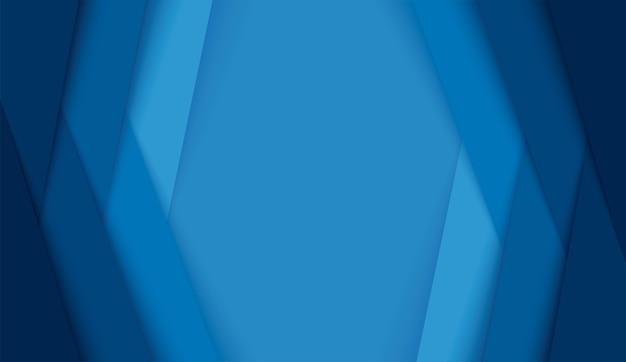 Fondo moderno astratto delle linee blu
