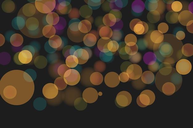 Fondo moderno astratto di effetto delle luci del bokeh