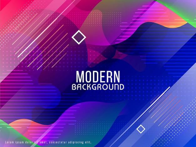 Astratto sfondo futuristico moderno