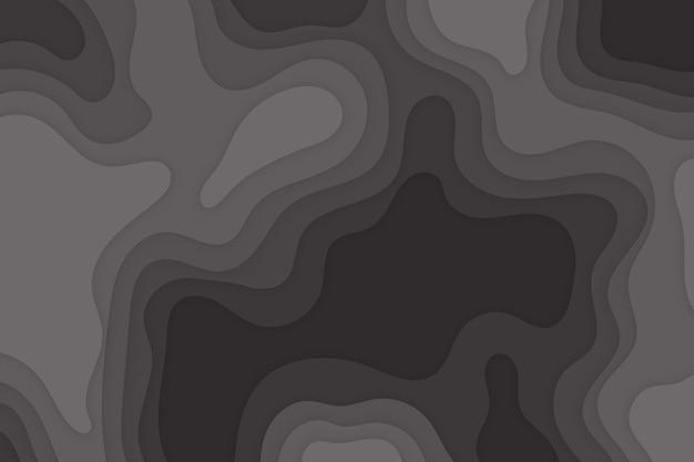 Sfondo astratto moderno papercut