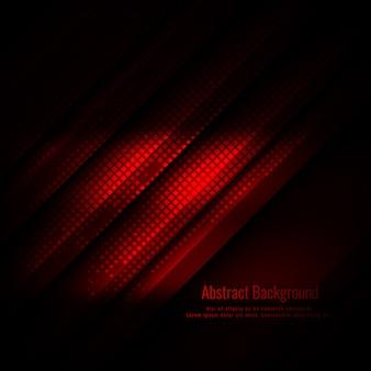 Fondo geometrico astratto di colore rosso moderno