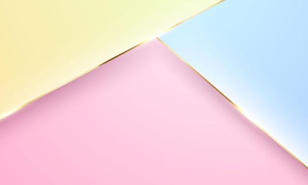 Forme moderne astratte. minimalista creativo. disegno di copertina di una cartolina o di una brochure.