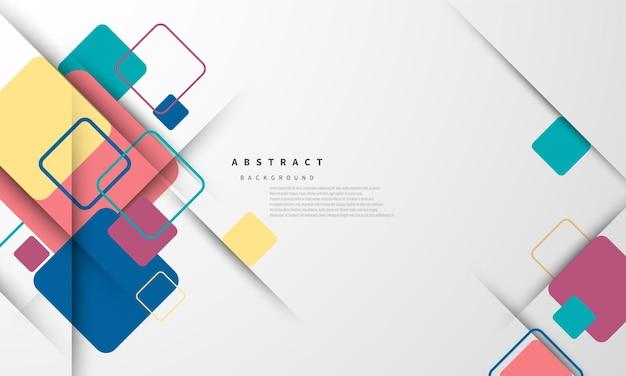 Forme moderne astratte. cartolina o copertina di brochure design.
