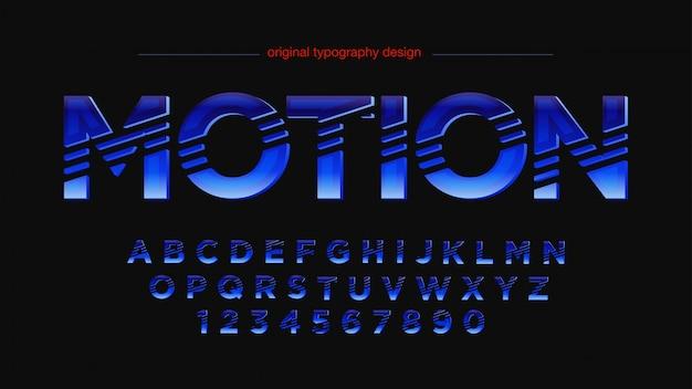 Tipografia viola strisce astratte moderne