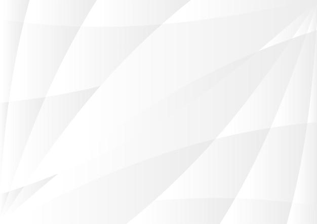 Struttura moderna astratta del fondo bianco e grigio, progettazione del fondo della superficie poligonale caotica