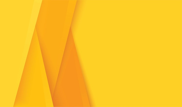 Astratto moderno sfondo giallo strati