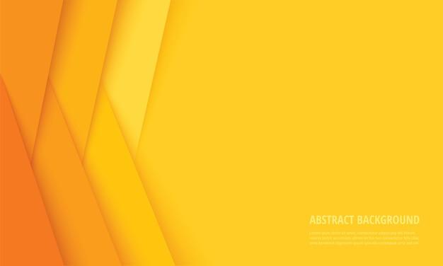 Fondo moderno astratto delle linee gialle