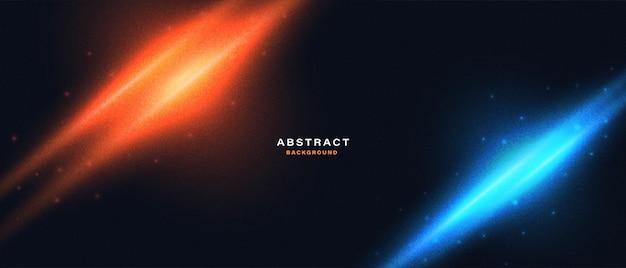 Sfondo di luci al neon movimento astratto abstract