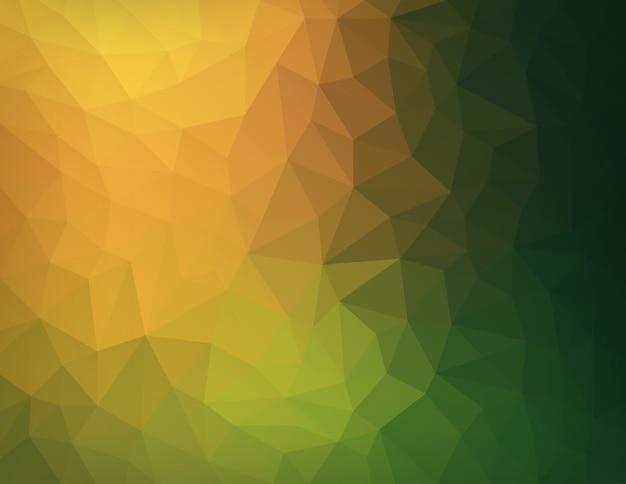 Natura astratta geometrica triangolare low poly sfondo