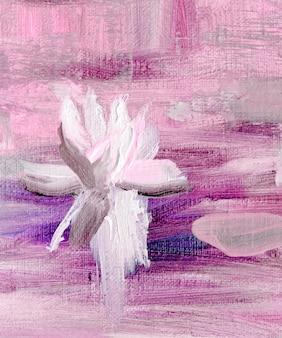 Pittura a olio astratta su tela. priorità bassa strutturata di vettore. dipinto ad olio disegnato a mano. fondo di vettore di arte astratta. frammento di opera d'arte. arte moderna. tela strutturata colorata.