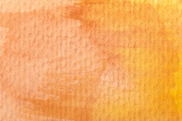 Priorità bassa arancione astratta dell'acquerello