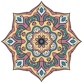 Mandala ornato astratta.