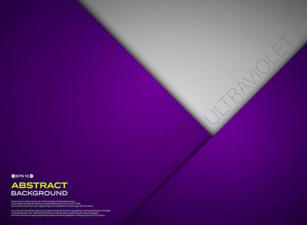 L'estratto di carta ha tagliato il fondo di colore viola di pendenza.