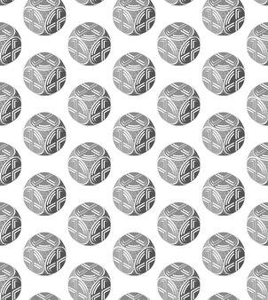 Un modello astratto di oggetti sferici producibilità oggetti rotondi disegno astratto