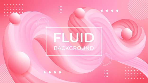 Astratto sfondo rosa con bellissimo liquido liquido per sfondo crema cosmetica.