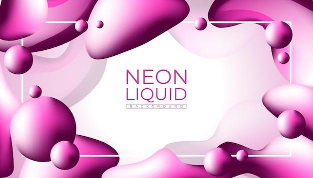 Sfondo liquido rosa astratto