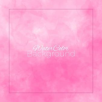 Fondo rosa astratto dell'acquerello.