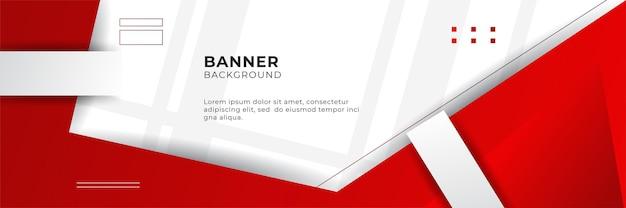 Illustrazione di vettore del modello di progettazione del fondo dell'insegna rossa astratta con lo strato di sovrapposizione 3d e le forme d'onda geometriche. sfondo astratto poligonale, trama, layout pubblicitario e pagina web