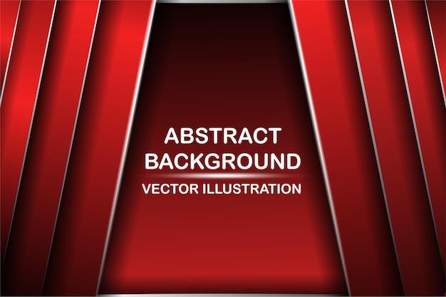 Fondo diagonale astratto di tecnologia morbida di struttura del metallo rosso e nero