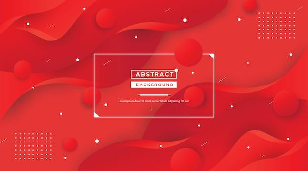 Progettazione rossa astratta del fondo di forma di colore