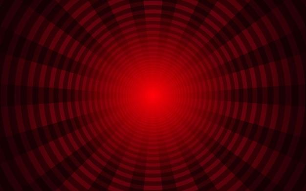 Priorità bassa rossa astratta dei raggi del sole