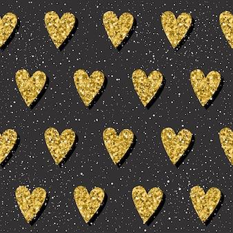 Fondo senza cuciture astratto. trama glitter oro. motivo per biglietti di natale, inviti natalizi, album di nozze, album di ritagli, carta da regalo per le vacanze, tessuto, t-shirt, stampa di borse, carta da parati, ecc.