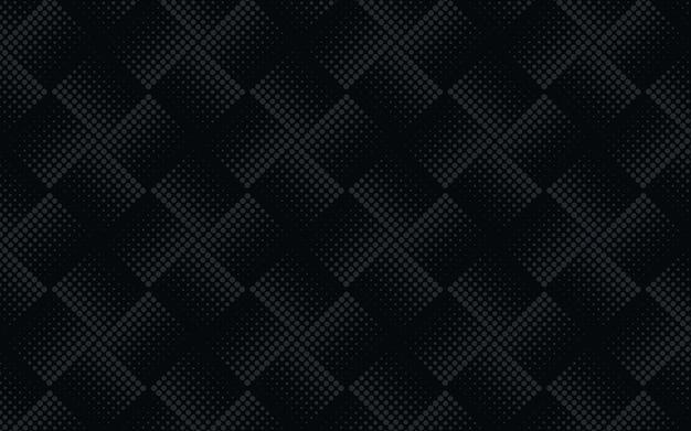 Reticolo senza giunte astratto reticolo mezzitoni grigio su sfondo scuro