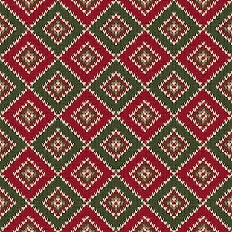 Motivo a maglia senza cuciture astratto. maglione di natale design. imitazione di texture in maglia di lana.