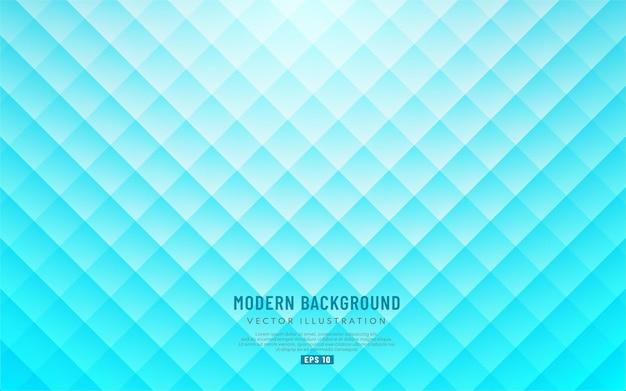 Fondo quadrato blu chiaro senza cuciture astratto del modello. moderna struttura geometrica.
