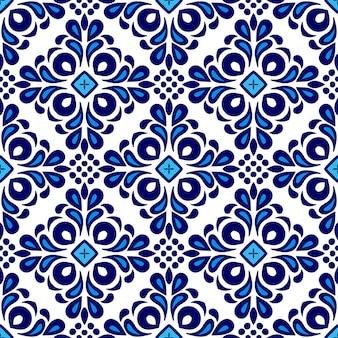 Modello vettoriale di pittura ad acquerello ornamentale senza cuciture astratto per tessuto