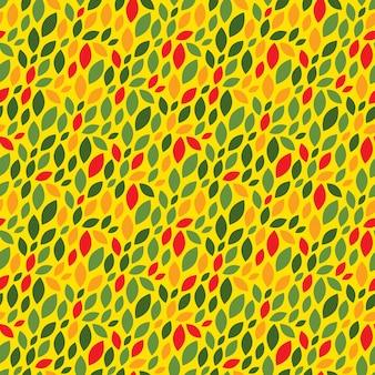 Modello senza cuciture astratto. priorità bassa di vettore di autunno. colori gialli e arancioni.