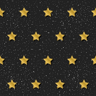 Fondo senza cuciture astratto. stella color oro sfumato per biglietti di design, inviti, magliette, libri, striscioni, poster, album di ritagli, album, tessuti, indumenti, stampe di borse, ecc.