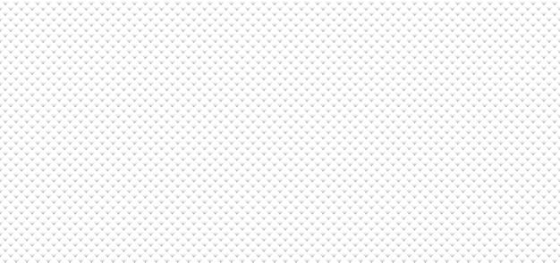 Fondo quadrato gradiente bianco e grigio senza cuciture astratto del modello