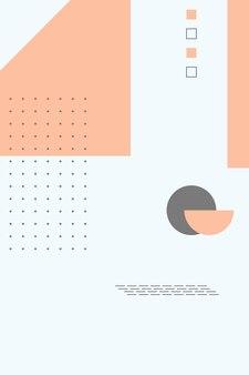 Abstract, forme colorate, salmone, grigio sfondo sfumato sfondo illustrazione vettoriale .