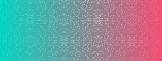 Astratto, forme, geometrico, motivo, design, colorato, verde blu, sfondo sfumato fucsia