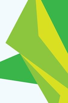 Abstract, forme verde, giallo, neon verde sfondo sfondo illustrazione vettoriale.