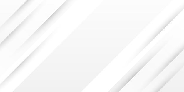 Sfondo astratto striscia bianca lucida