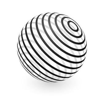 Elemento astratto della sfera