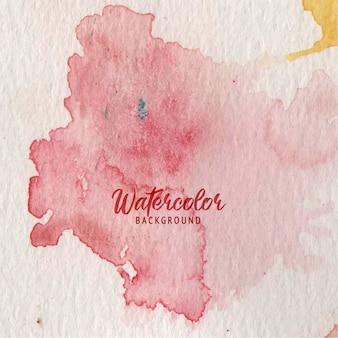 Sfondo astratto vernice spruzzata con struttura ad acquerello Vettore Premium