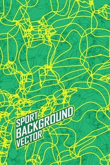 Modello astratto di struttura del fondo di sport