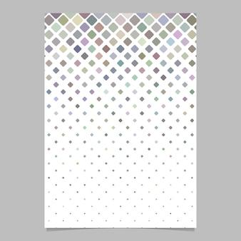 Disegno astratto brochure quadrato