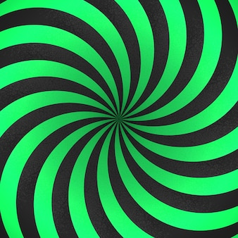 Sfondo a strisce astratto sfondo di forme 3d a strisce verdi e nere