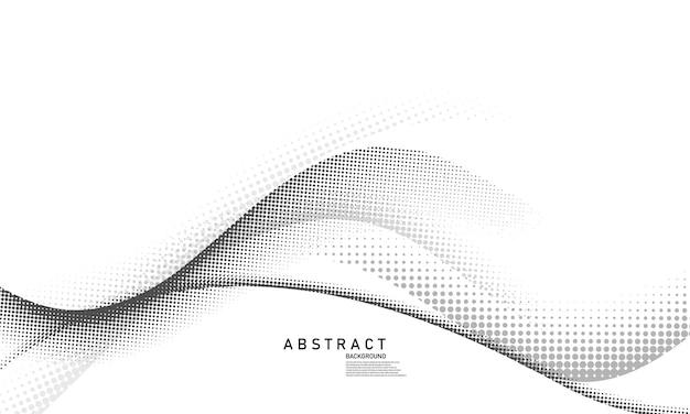 Concetto di mezzitoni in stile astratto per il tuo design grafico