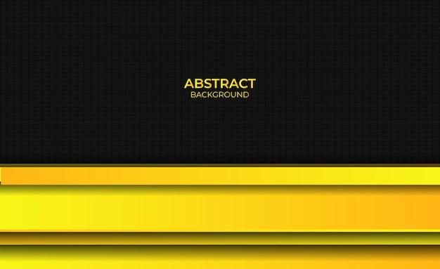 Sfondo luminoso sfumato di design giallo stile astratto