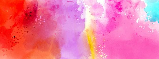 Superficie astratta brillante colorato di acquerello