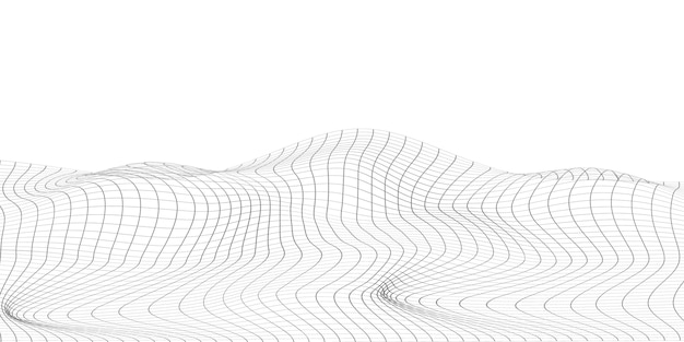 Tavolo astratto sfondo grigio con triangolo dinamico. tecnologia particle mist network sicurezza informatica.