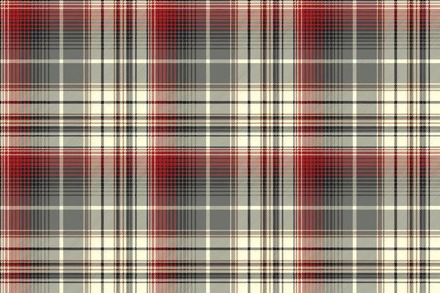 Modello senza cuciture astratto scozzese