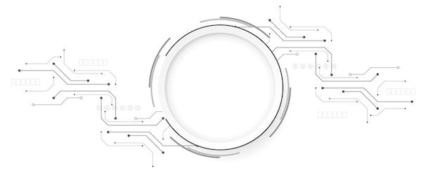 Illustrazione di sfondo astratto di tecnologiasfondo di innovazione di concetto di comunicazione di alta tecnologiasci